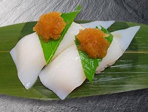 ヤリイカ(おろしポン酢)
